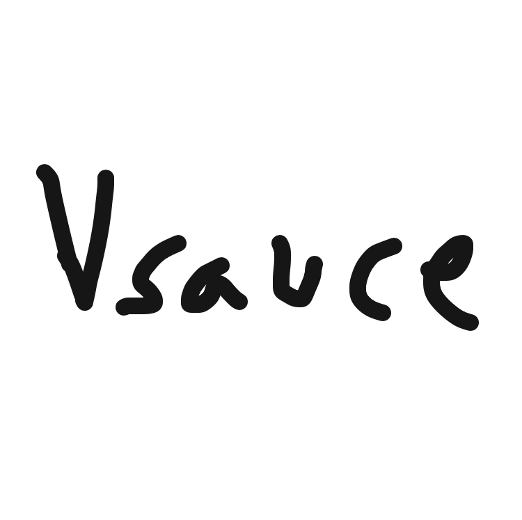 Profile picture for the comic artist, Vsauce