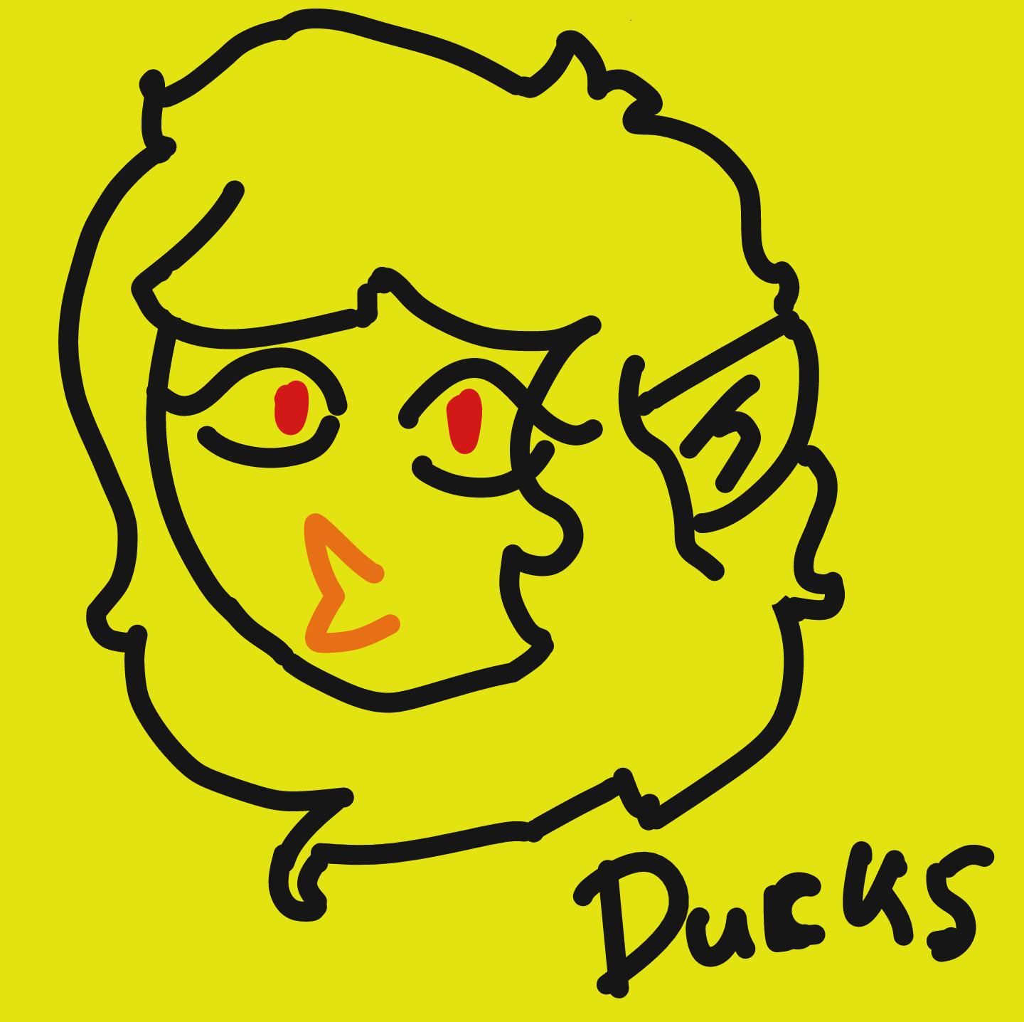 Profile picture for the comic artist, Ducksinmahbooks