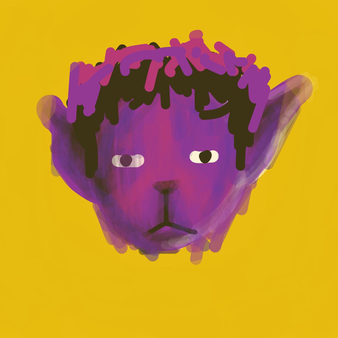 Profile picture by the comic artist Purple Alien