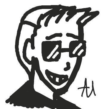 Profile picture for the comic artist, Adam