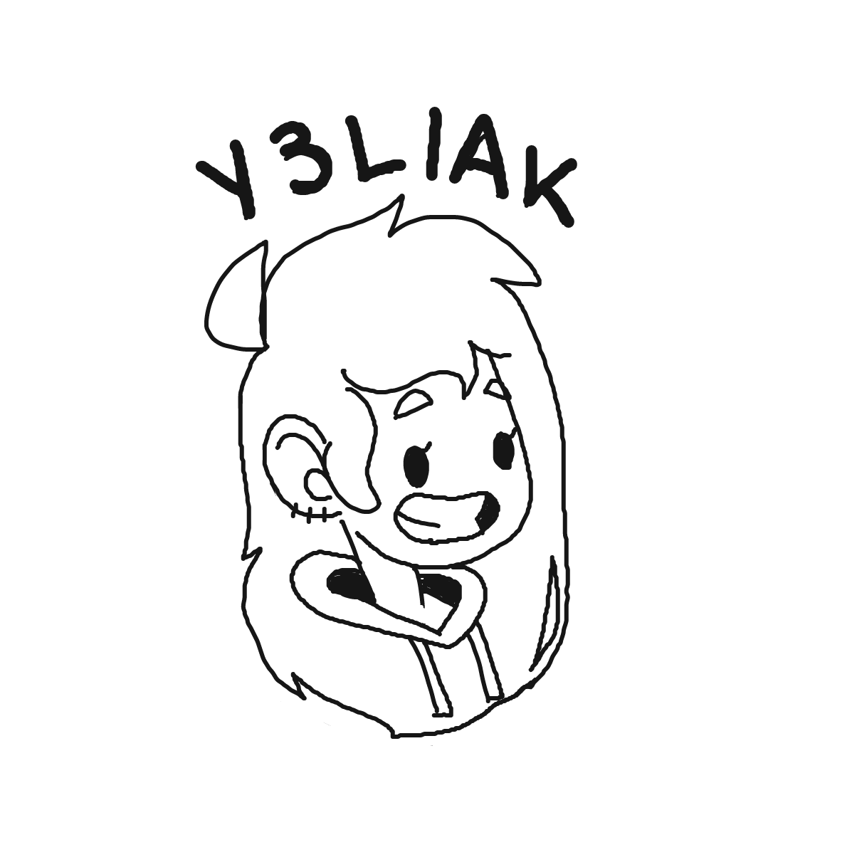 Profile picture for the comic artist, y3liak