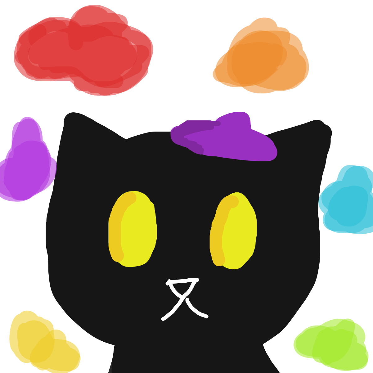 Profile picture for the comic artist, BlackCatArtist