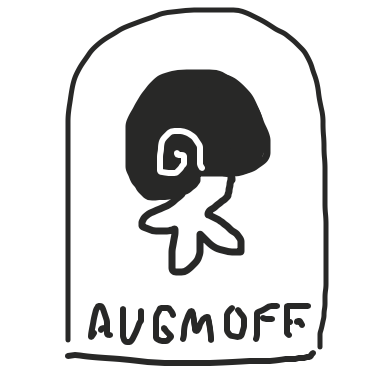 Profile picture for the comic artist, Augmoff
