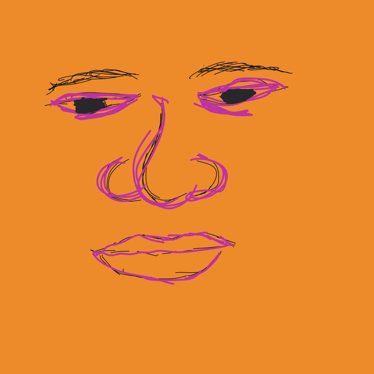 Profile picture for the comic artist, Shush