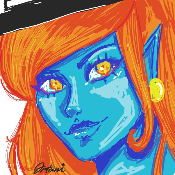 Profile picture for the comic artist, ortani