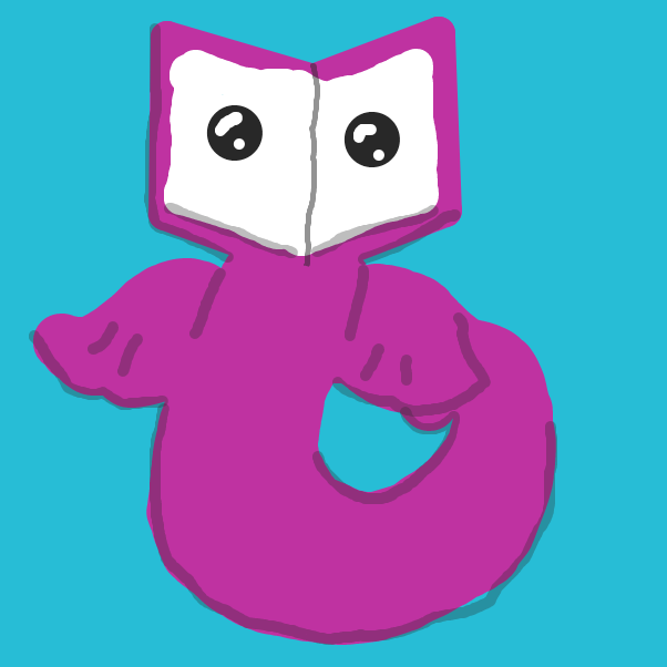 Profile picture for the comic artist, bookwyrm