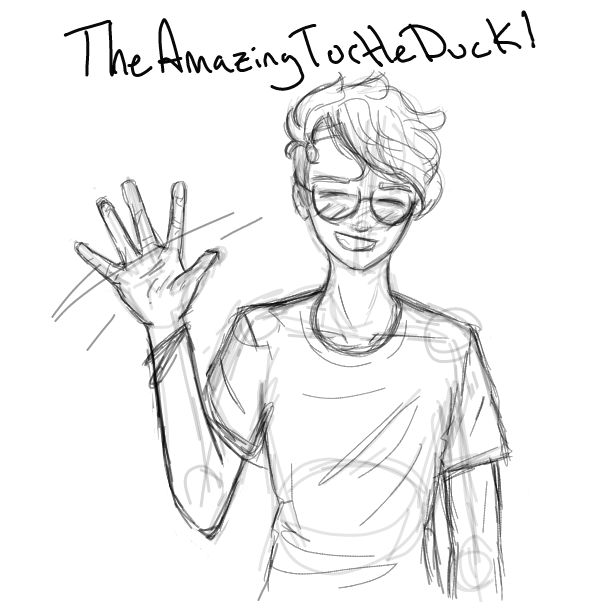 Profile picture for the comic artist, TheAmazingTurtleDuck