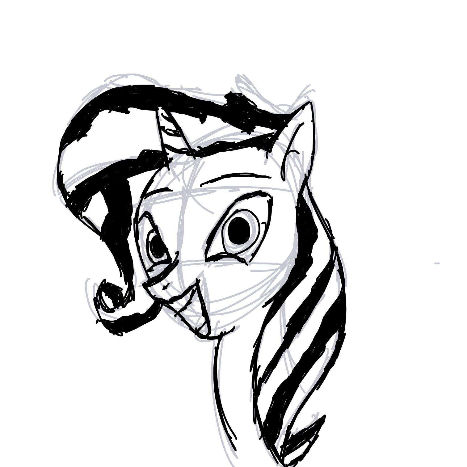 Profile picture for the comic artist, Sunset Shimmer