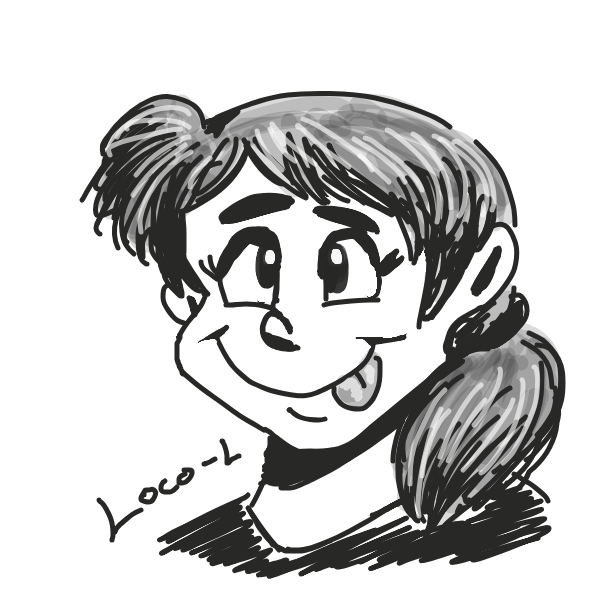 Profile picture for the comic strip artist, Loco-L