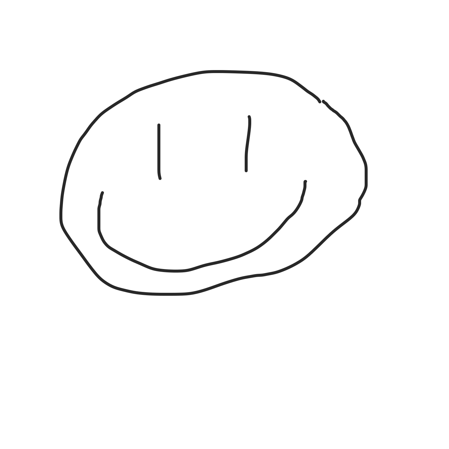 Profile picture for the comic artist, Smiley face XD