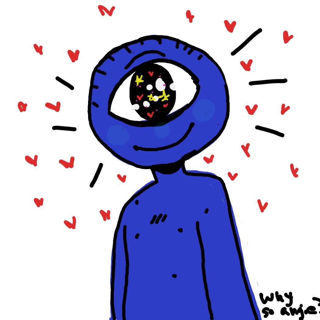 Profile picture for the comic artist, Rednightlights