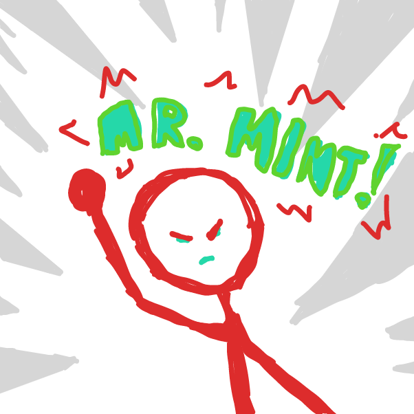 Profile picture for the comic artist, Mr. Mint