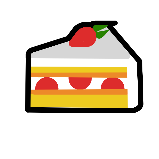 Profile picture for the comic strip artist, Cake Emoji