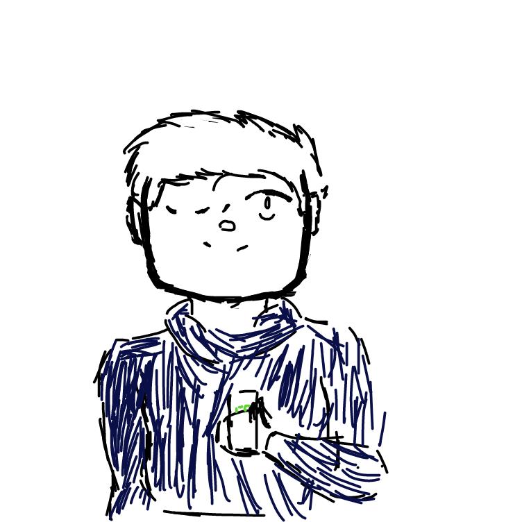 Profile picture for the comic artist, Maximo