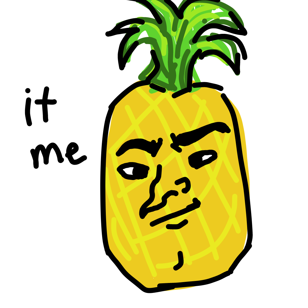 Profile picture for the comic strip artist, MightyPineapple