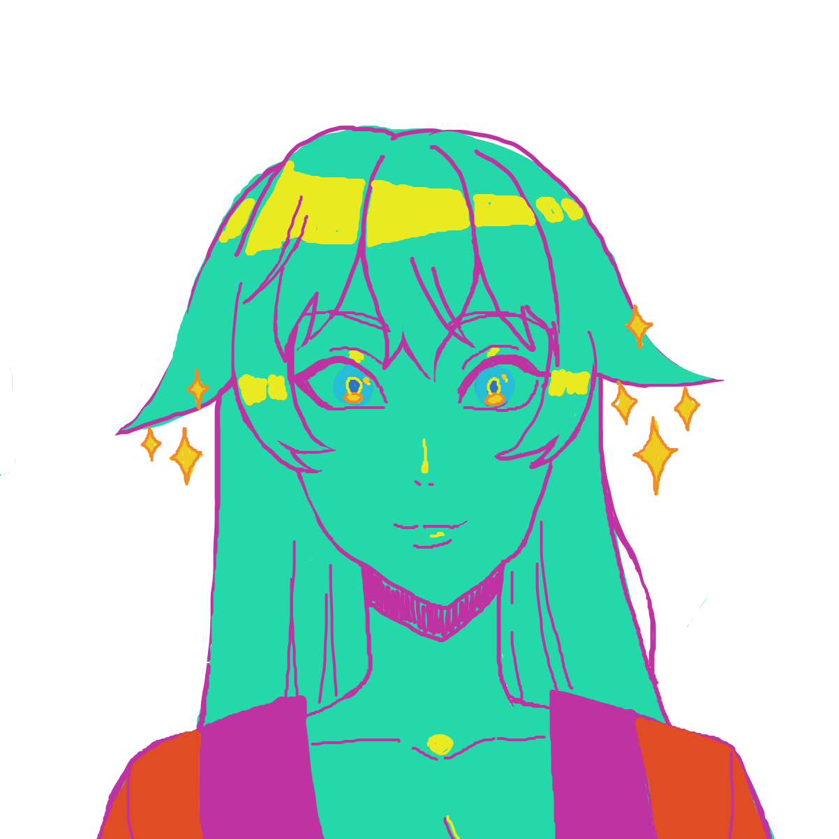 Profile picture for the comic artist, Tea