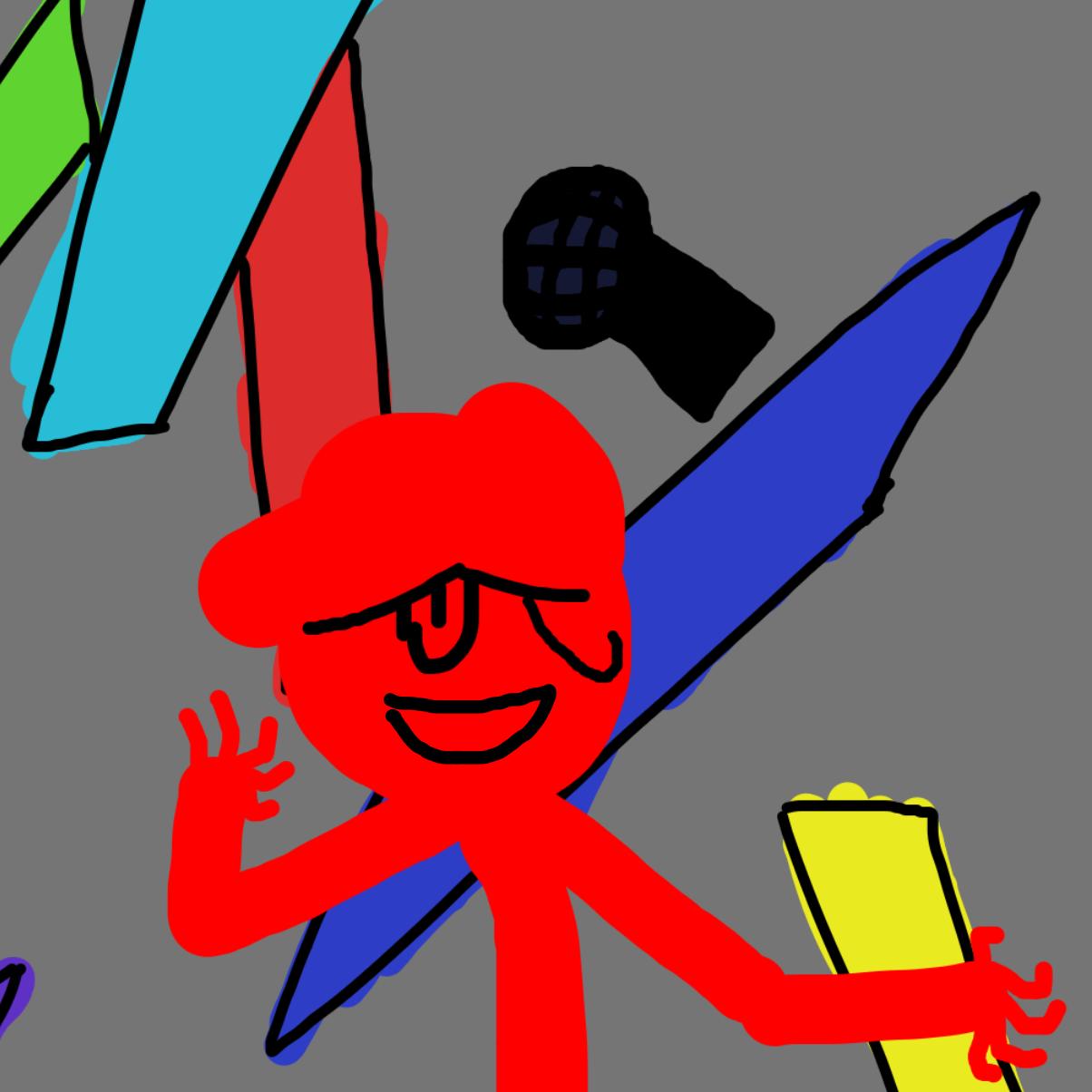 Profile picture for the comic artist, Blatzz