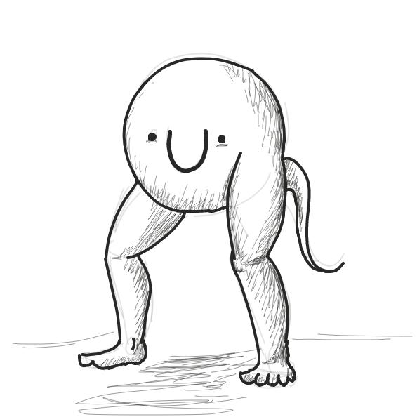 Profile picture for the comic strip artist, Potatopeelerkind