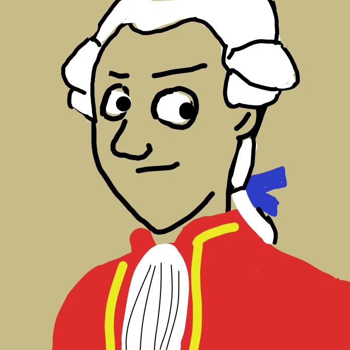 Profile picture for the comic artist, Mozart