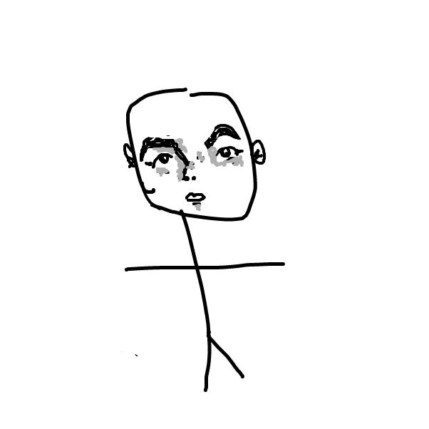 Profile picture for the comic artist, Bad@art