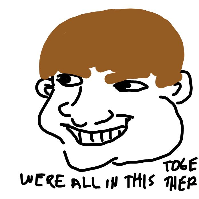 Profile picture for the comic artist, Zac Efron