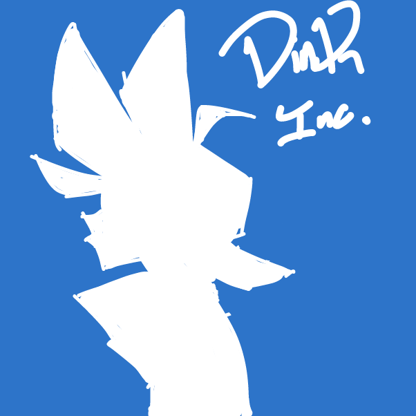 Profile picture for the comic artist, dink