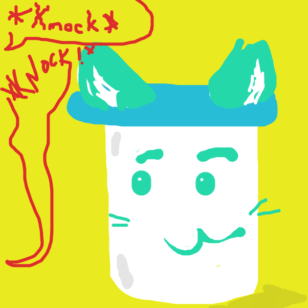 Drawing in Mayonnaise Cat by Dangubblue