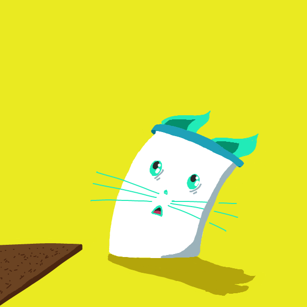 Drawing in Mayonnaise Cat by Newtoto