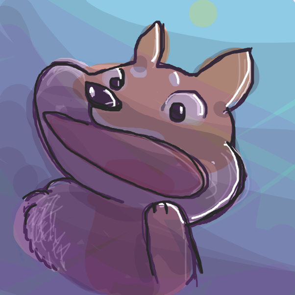 Drawing in Doge Go Schloof by Dangubblue