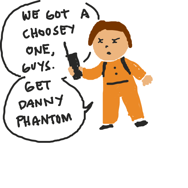 Someone call Danny Phantom - Online Drawing Game Comic Strip Panel by xcandyslice