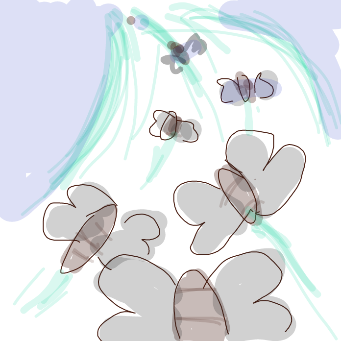 Moth swarm coming!  - Online Drawing Game Comic Strip Panel by ArelaEstudio