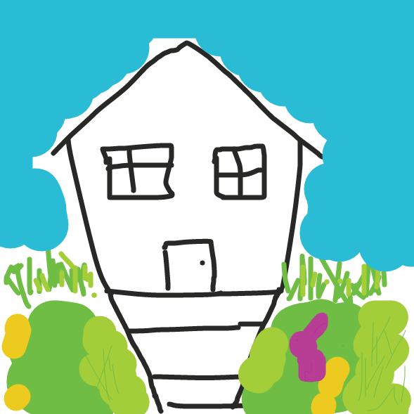 First panel in What's Going On Here? drawn in our free online drawing game