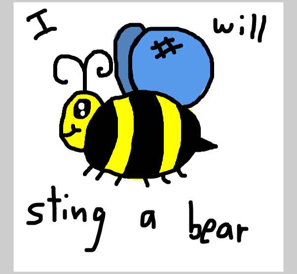 Drawing in Bob Bee by SteliosPapas