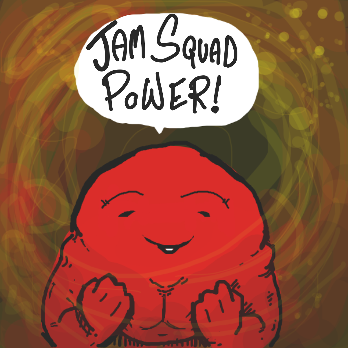 Redrawing on top of an old panel as a test :) - Online Drawing Game Comic Strip Panel by jamdaddy