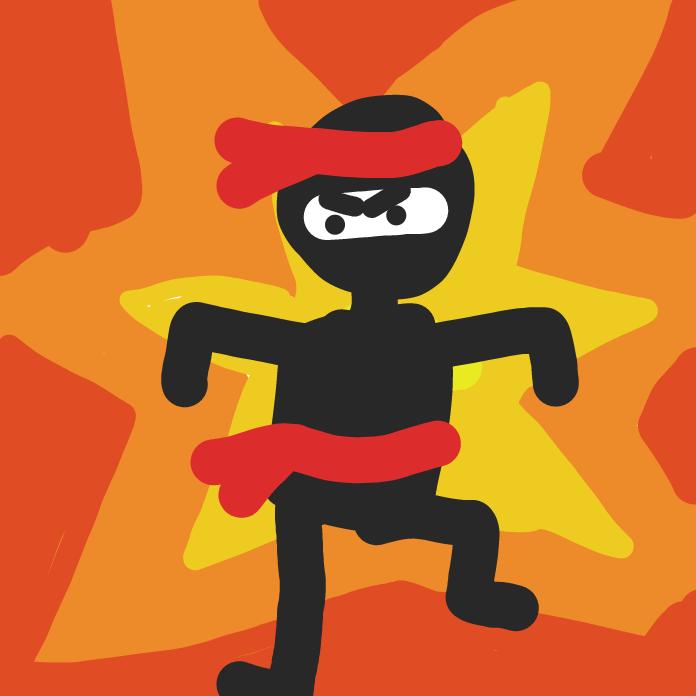 Drawing in Ninja! by AnnenasComics