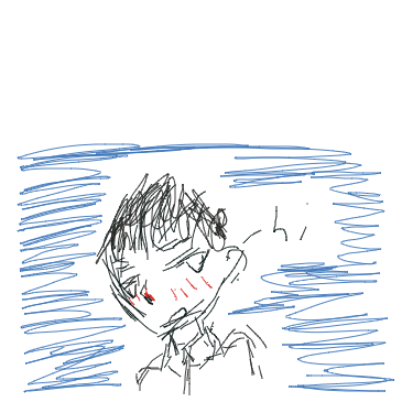 First panel in This is my first one sorry drawn in our free online drawing game