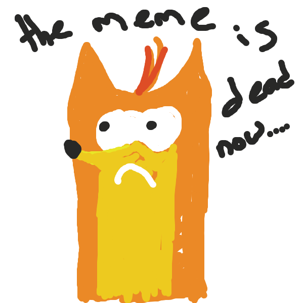 First panel in Woah  drawn in our free online drawing game