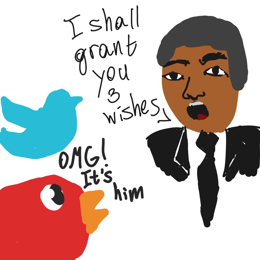 Drawing in Bernie Bird by Mongo0se