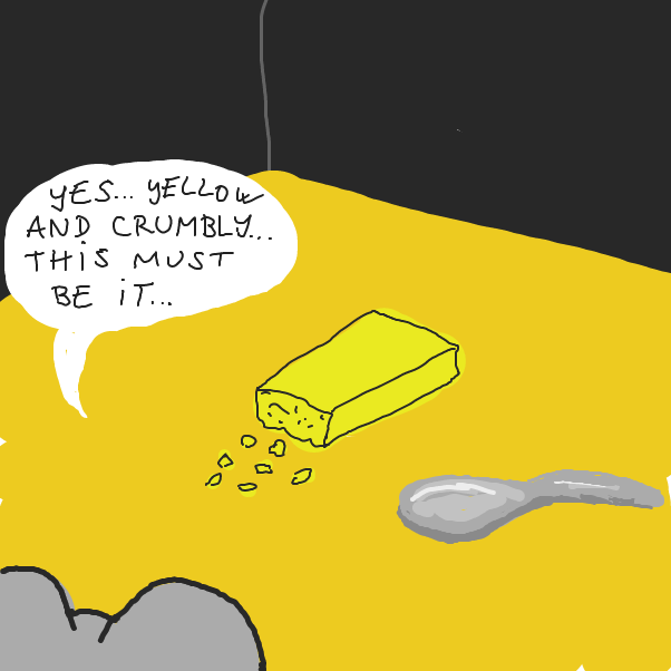 Cheese or not cheese - Online Drawing Game Comic Strip Panel by Mahteeyah