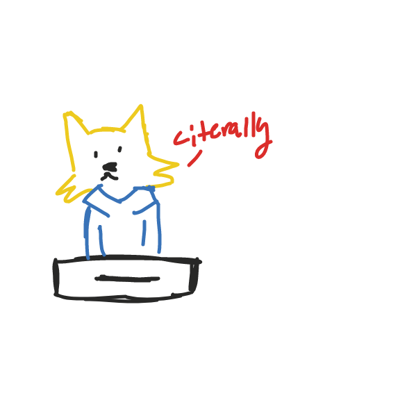 Drawing in Danger Dog by @Drawing._.KartistJ