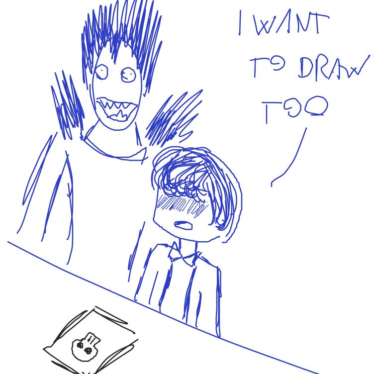 Drawing in Energetic Drawing!! by facelessdrawings