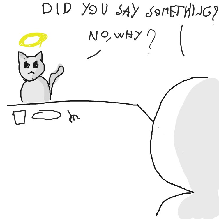 Drawing in Why'd you do that for? by facelessdrawings