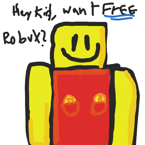 Drawing in ROBLOX by Beember-jams