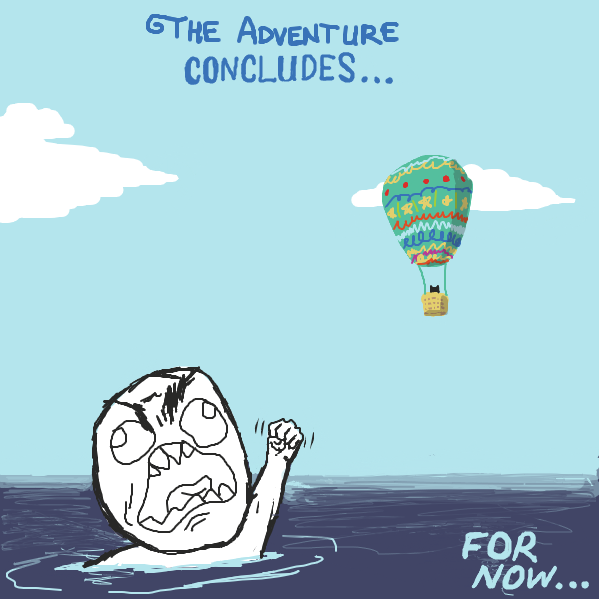 Drawing in cat in a hot air balloon by redheadsoldier