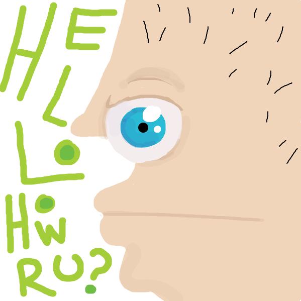 Drawing in Regular guy by Trilliumdude