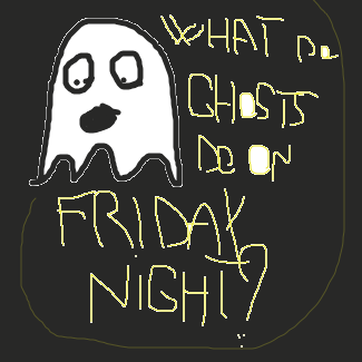 First panel in The friday boredom drawn in our free online drawing game