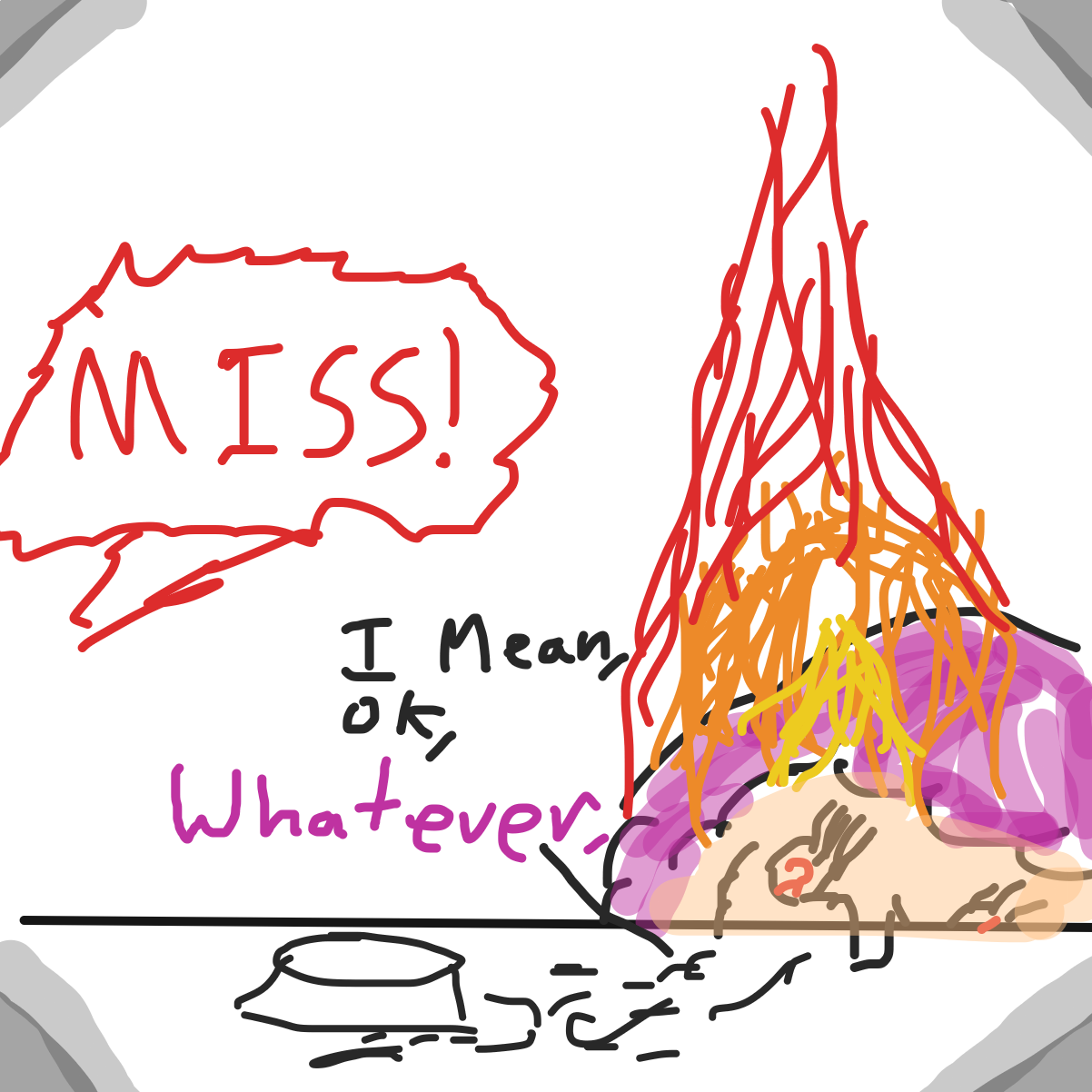- Online Drawing Game Comic Strip Panel by Ember