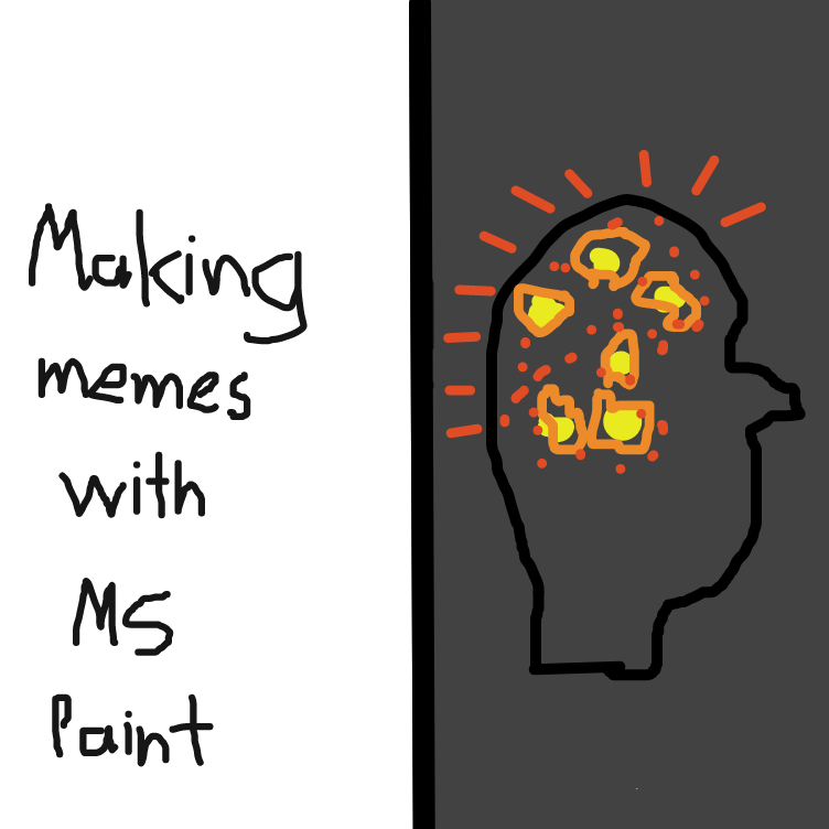 Drawing in Making Memes by Allors