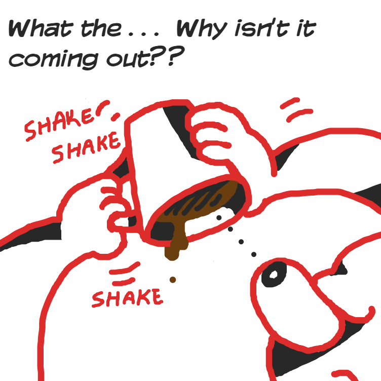 Oh, oh no - Online Drawing Game Comic Strip Panel by Delete