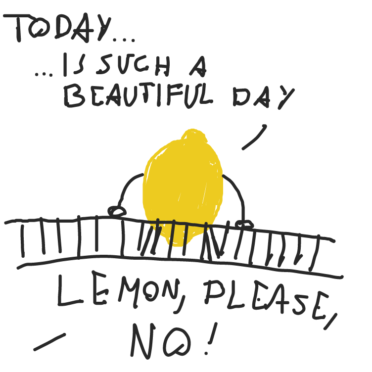 Drawing in lemonade stand by facelessdrawings